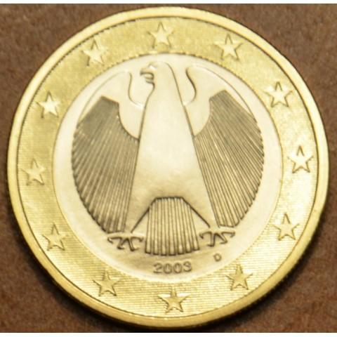 """1 Euro Nemecko """"D"""" 2003 (UNC)"""