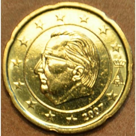 20 cent Belgicko 2007 (UNC)