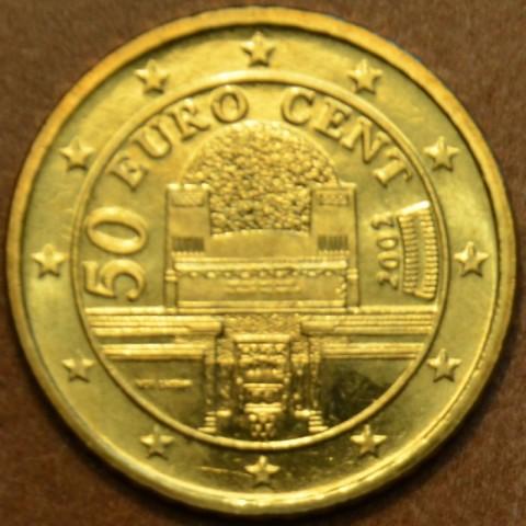 50 cent Rakúsko 2002 (UNC)