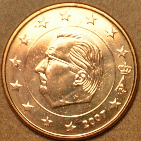 1 cent Belgicko 2007 (UNC)