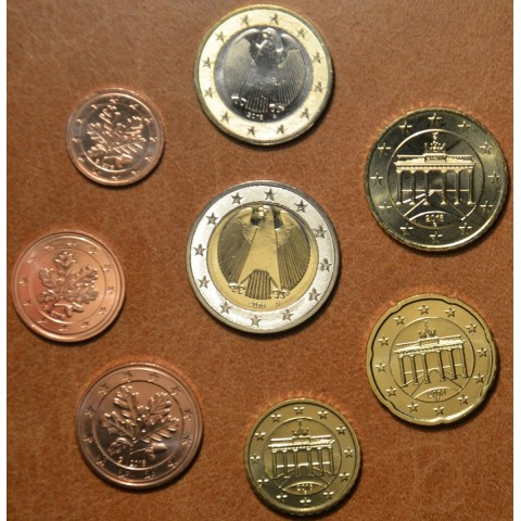 """Set of 8 coins Germany 2016 """"A"""" (UNC)"""