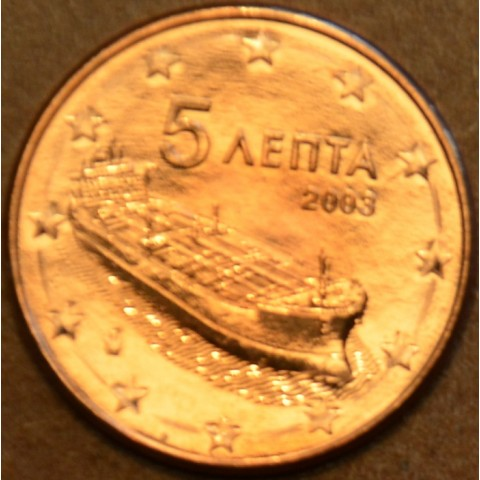 5 cent Greece 2003 (UNC)