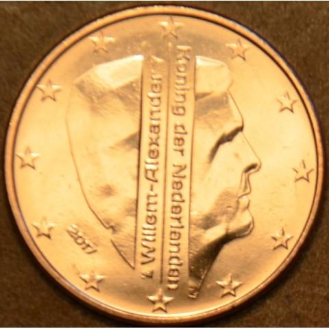 5 cent Holandsko 2017 - Kráľ Willem Alexander (UNC)