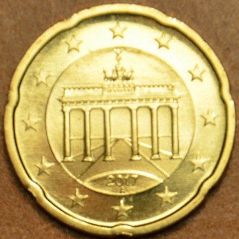 """20 cent Germany """"A"""" 2017 (UNC)"""