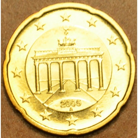"""20 cent Germany """"A"""" 2005 (UNC)"""