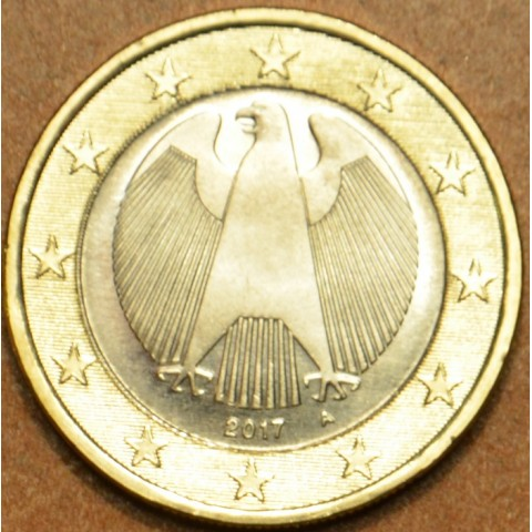 """1 Euro Germany """"A"""" 2017 (UNC)"""