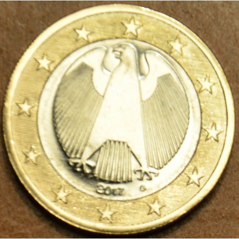 "1 Euro Germany ""G"" 2017 (UNC)"
