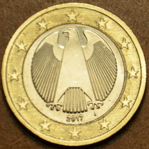 "1 Euro Germany ""J"" 2017 (UNC)"