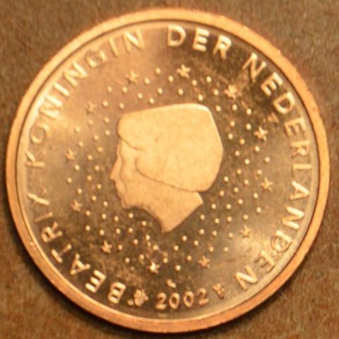 1 cent Holandsko 2002 (UNC)