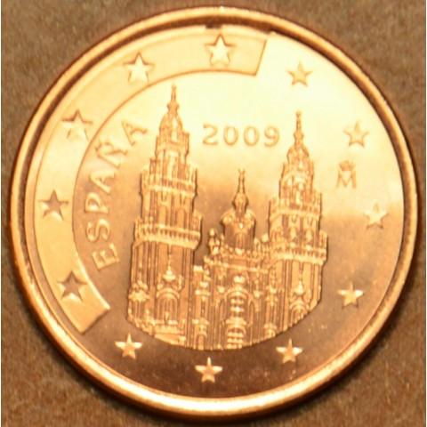 1 cent Španielsko 2009 (UNC)