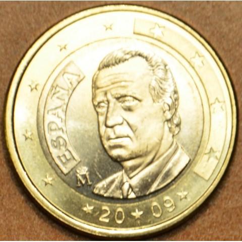 1 Euro Španielsko 2009 (UNC)
