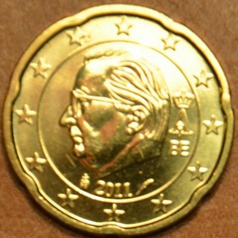 20 cent Belgicko 2011 (UNC)