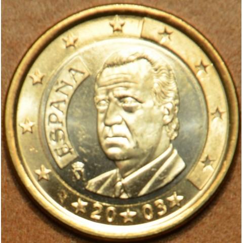 1 Euro Španielsko 2003 (UNC)