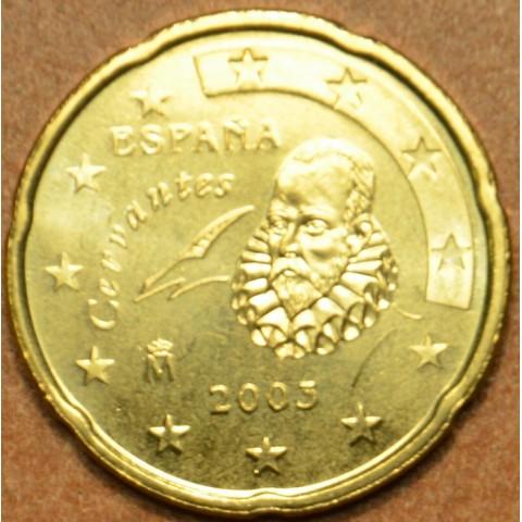 20 cent Španielsko 2003 (UNC)