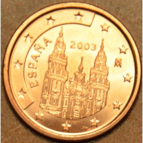 2 cent Spain 2003 (UNC)
