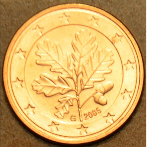 """2 cent Germany """"G"""" 2005 (UNC)"""