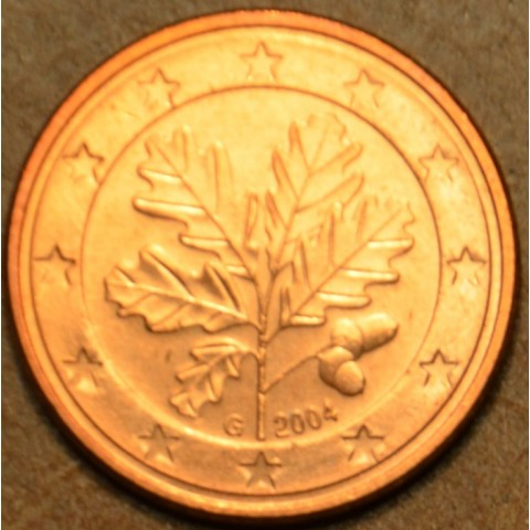 """2 cent Germany """"G"""" 2004 (UNC)"""