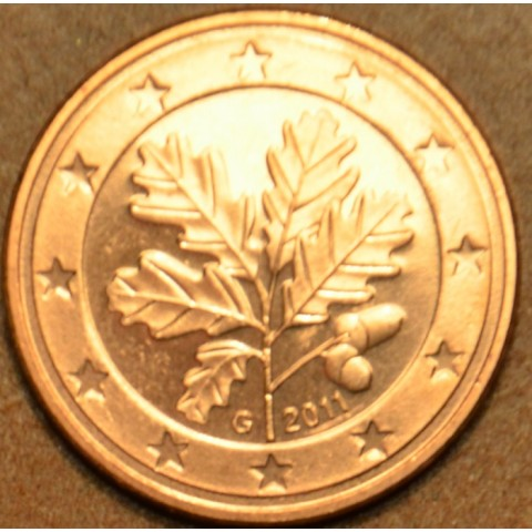 """2 cent Germany """"G"""" 2011 (UNC)"""