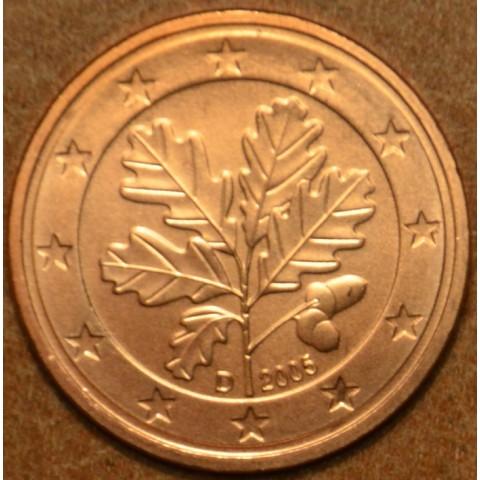 """2 cent Germany """"D"""" 2005 (UNC)"""