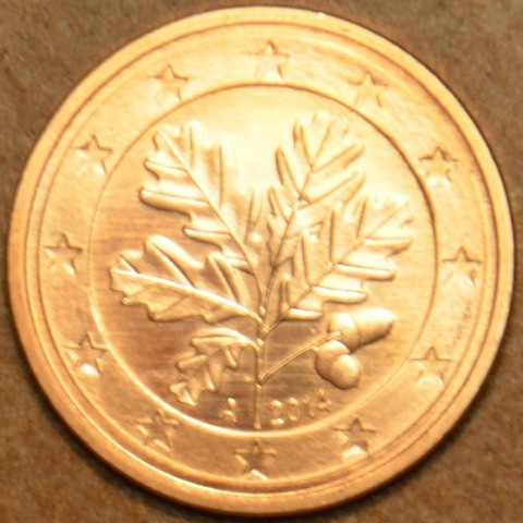 """1 cent Germany """"A"""" 2014 (UNC)"""