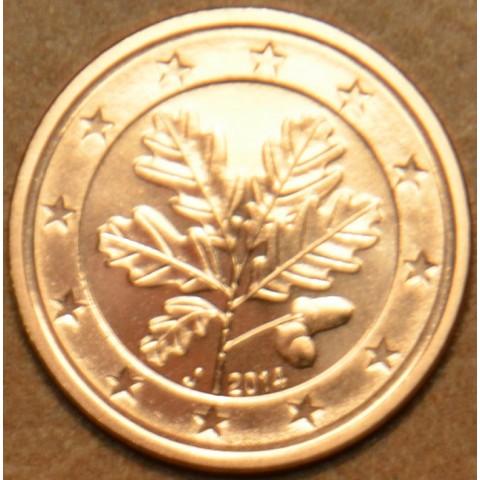 "2 cent Germany ""J"" 2014 (UNC)"