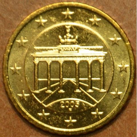 "10 cent Nemecko ""F"" 2005 (UNC)"
