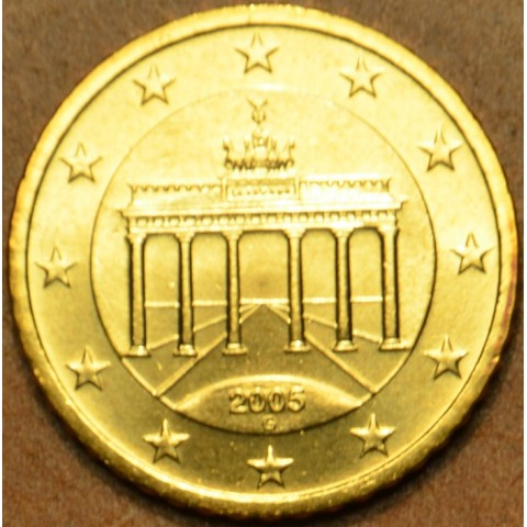 """10 cent Germany """"G"""" 2005 (UNC)"""