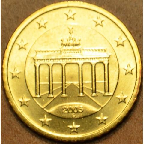 """10 cent Nemecko """"G"""" 2005 (UNC)"""
