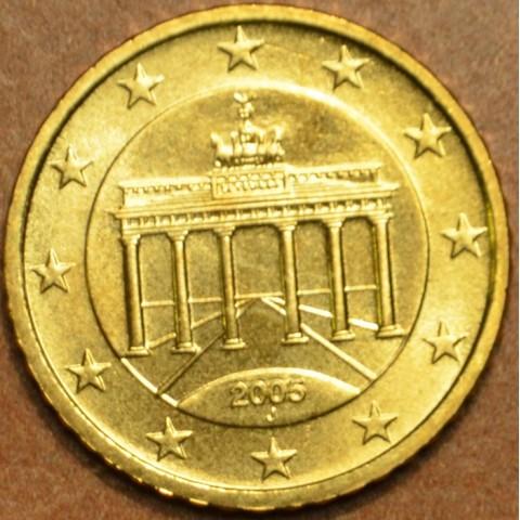 """10 cent Nemecko """"J"""" 2005 (UNC)"""