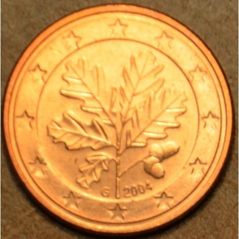 """1 cent Nemecko """"G"""" 2004 (UNC)"""