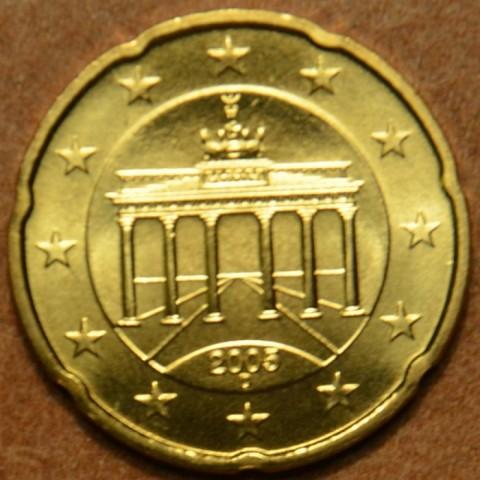 """20 cent Germany """"D"""" 2005 (UNC)"""