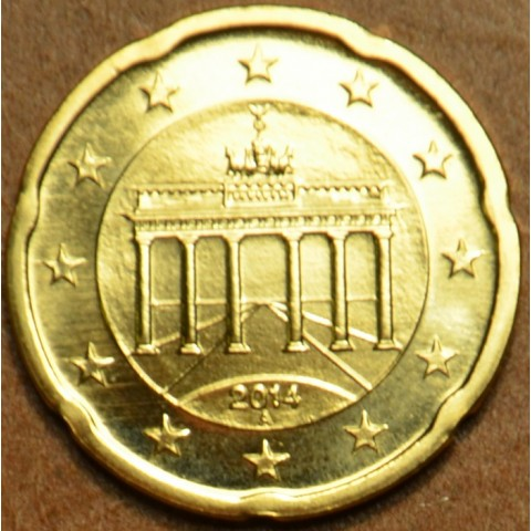 "20 cent Germany ""A"" 2014 (UNC)"