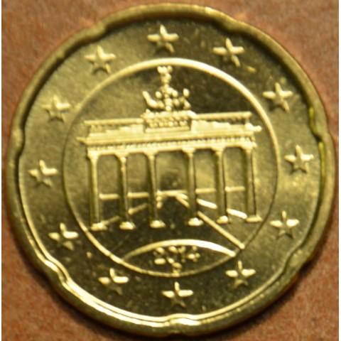 """20 cent Germany """"D"""" 2014 (UNC)"""