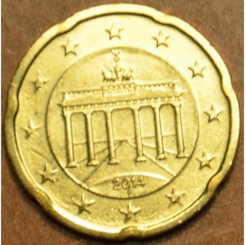 "20 cent Germany ""F"" 2014 (UNC)"