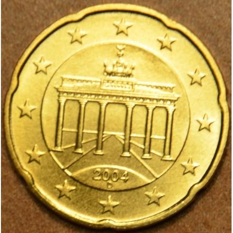 """20 cent Germany """"D"""" 2004 (UNC)"""