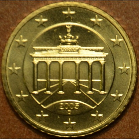 "50 cent Germany ""D"" 2005 (UNC)"