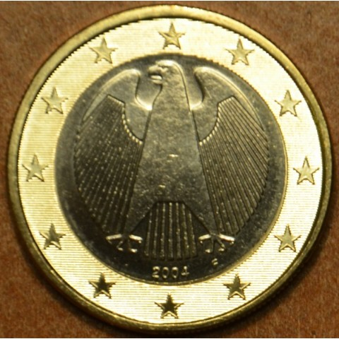 """1 Euro Nemecko """"F"""" 2004 (UNC)"""