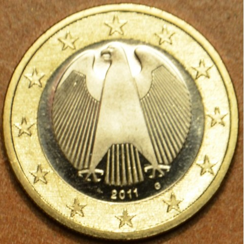 "1 Euro Germany ""G"" 2011 (UNC)"