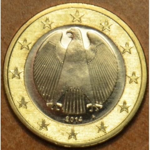 "1 Euro Germany ""A"" 2014 (UNC)"