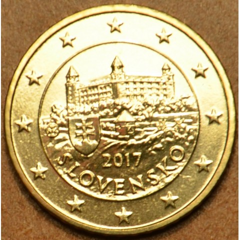 50 cent Slovakia 2017 (UNC)