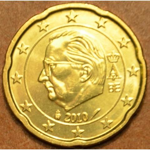 20 cent Belgicko 2010 (UNC)