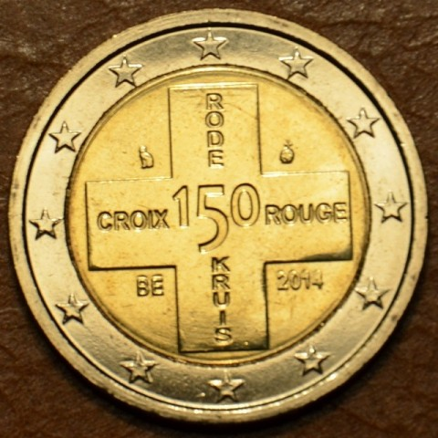 2 Euro Belgium 2014 - 150th Anniversary of the Belgian Red Cross (BU)