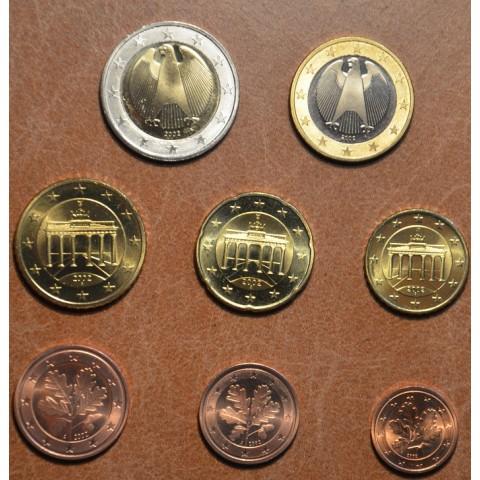 """Sada 8 nemeckých mincí 2002 """"A"""" (UNC)"""