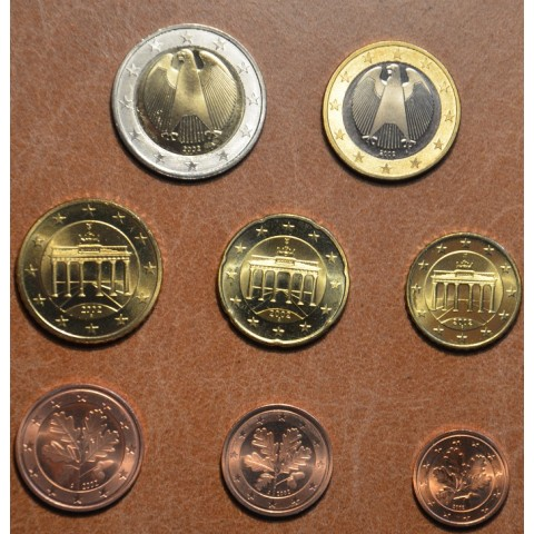 "Set of 8 coins Germany 2002 ""A"" (UNC)"