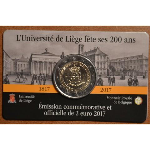 2 Euro Belgium 2017 - University of Liege (BU card)