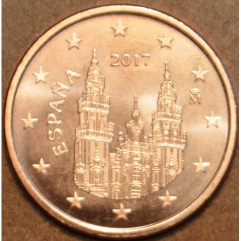 1 cent Spain 2017 (UNC)