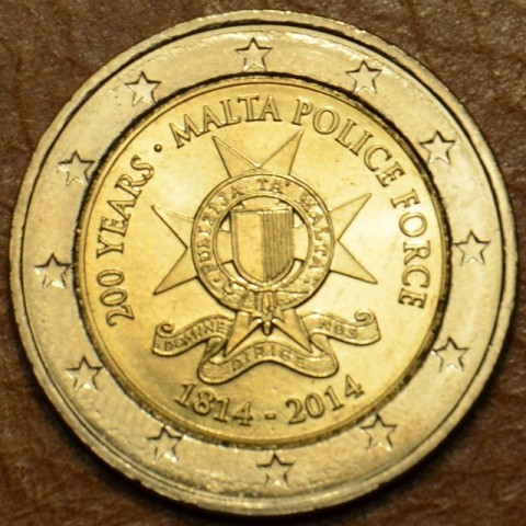 2 Euro Malta - 200 years Malta Police Force (UNC)