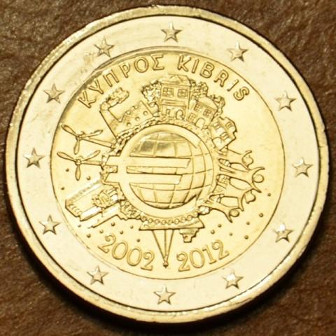 2 Euro Cyprus 2012 - 10. výročia vzniku Eura (UNC)