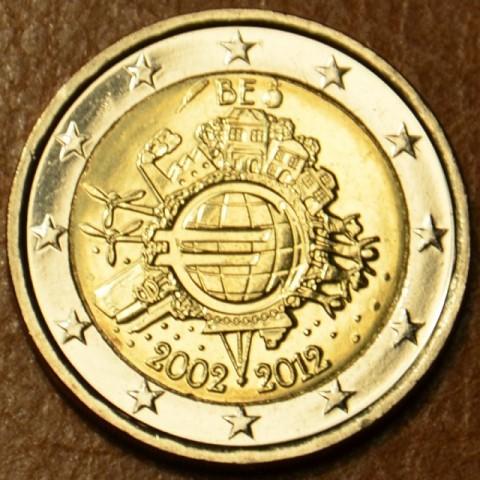 2 Euro Belgicko 2012 - 10. výročia vzniku Eura (UNC)