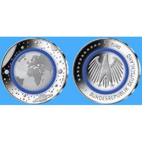 5 Euro Germany 2016 Planet Earth (UNC)